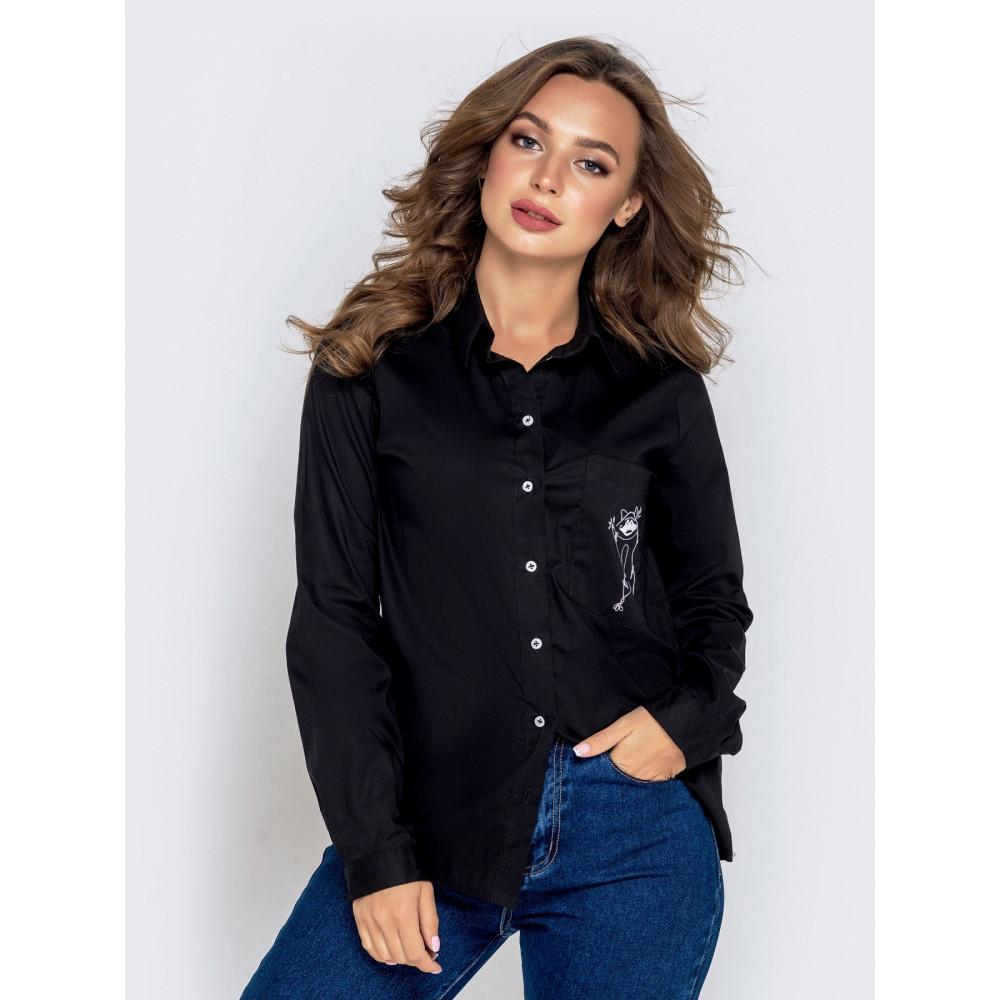 Интересная рубашка с веселым енотом фото 1