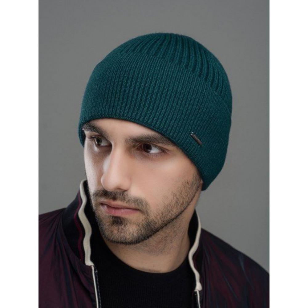 Демісезонна зелена шапка Макс фото 1