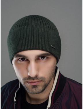 Зеленая осенняя шапка Макс