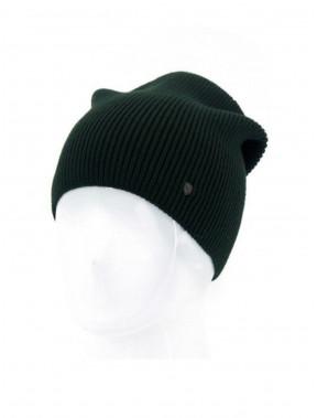 Модная шапка Монолит цвета хаки
