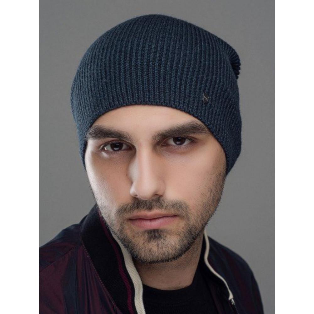 Демисезонная мягкая шапка Монолит фото 1