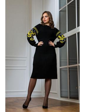 Стильна сукня-вишиванка Любава