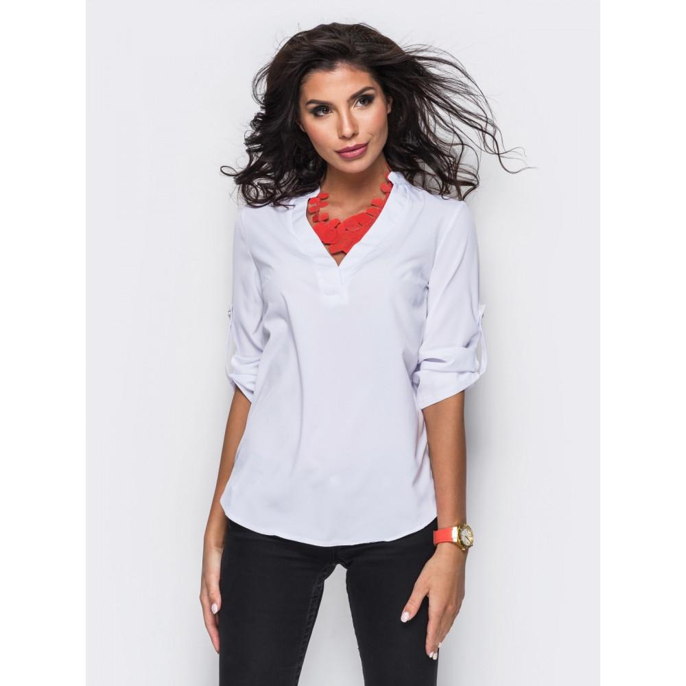 Красивая классическая блузка фото 1
