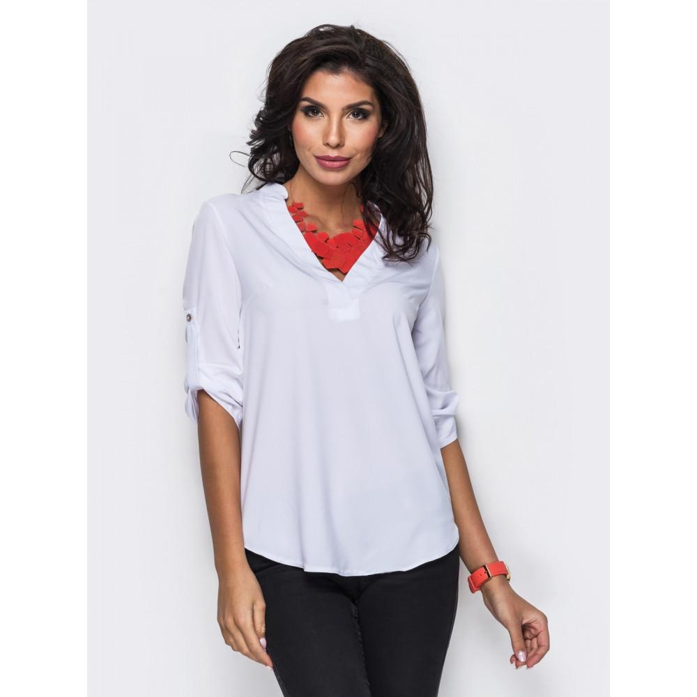 Красивая классическая блузка фото 2