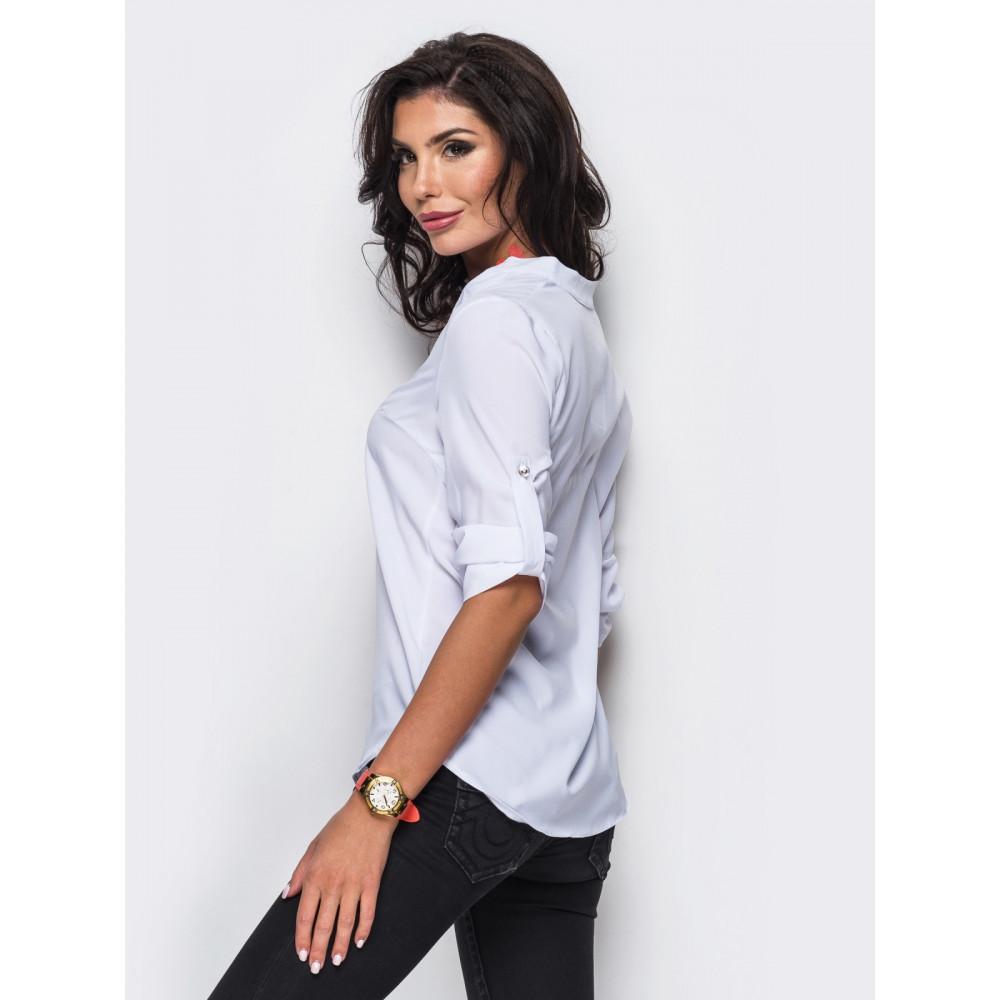 Красивая классическая блузка фото 3