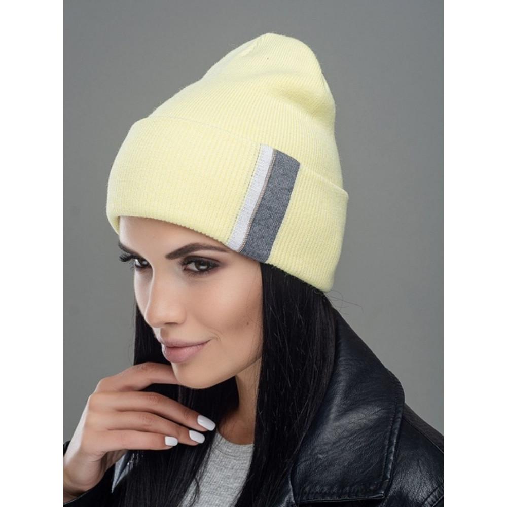 Подвійна жовта шапка Брунелла фото 1