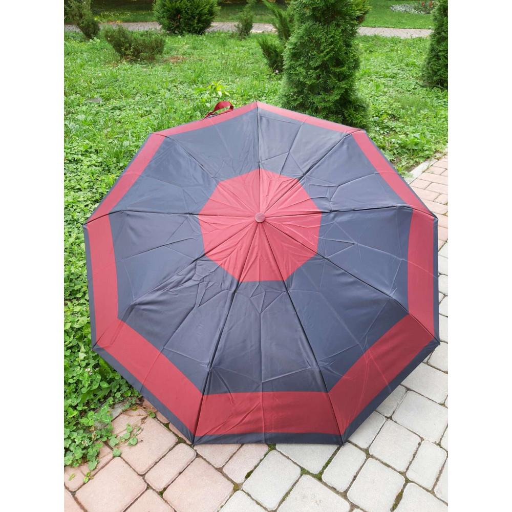 Двухцветный женский зонт фото 1
