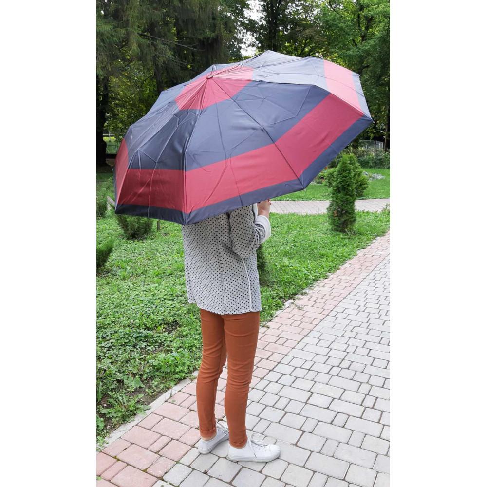Двухцветный женский зонт фото 2