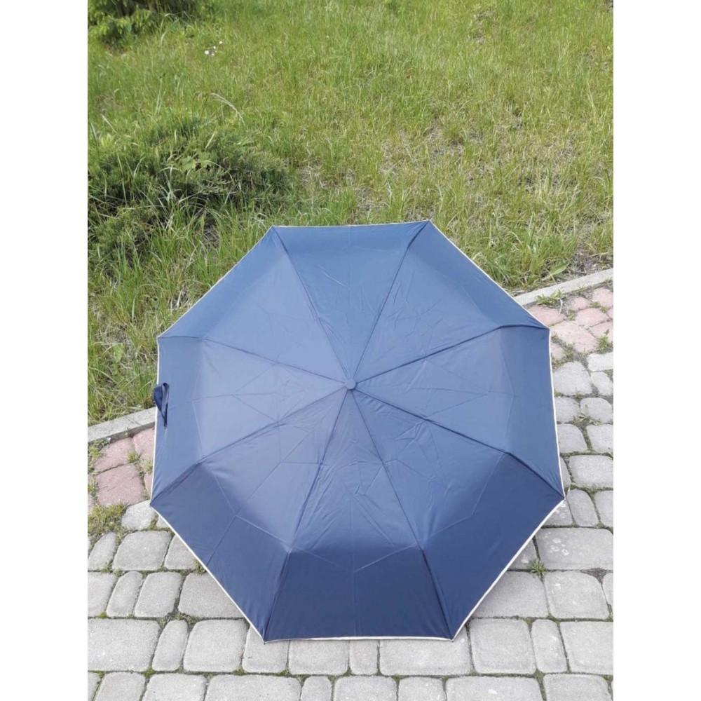 Компактный синий зонт фото 3