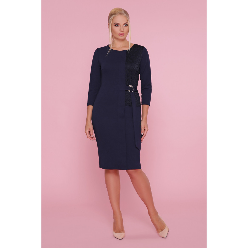 Красивое синее платье Делия фото 1