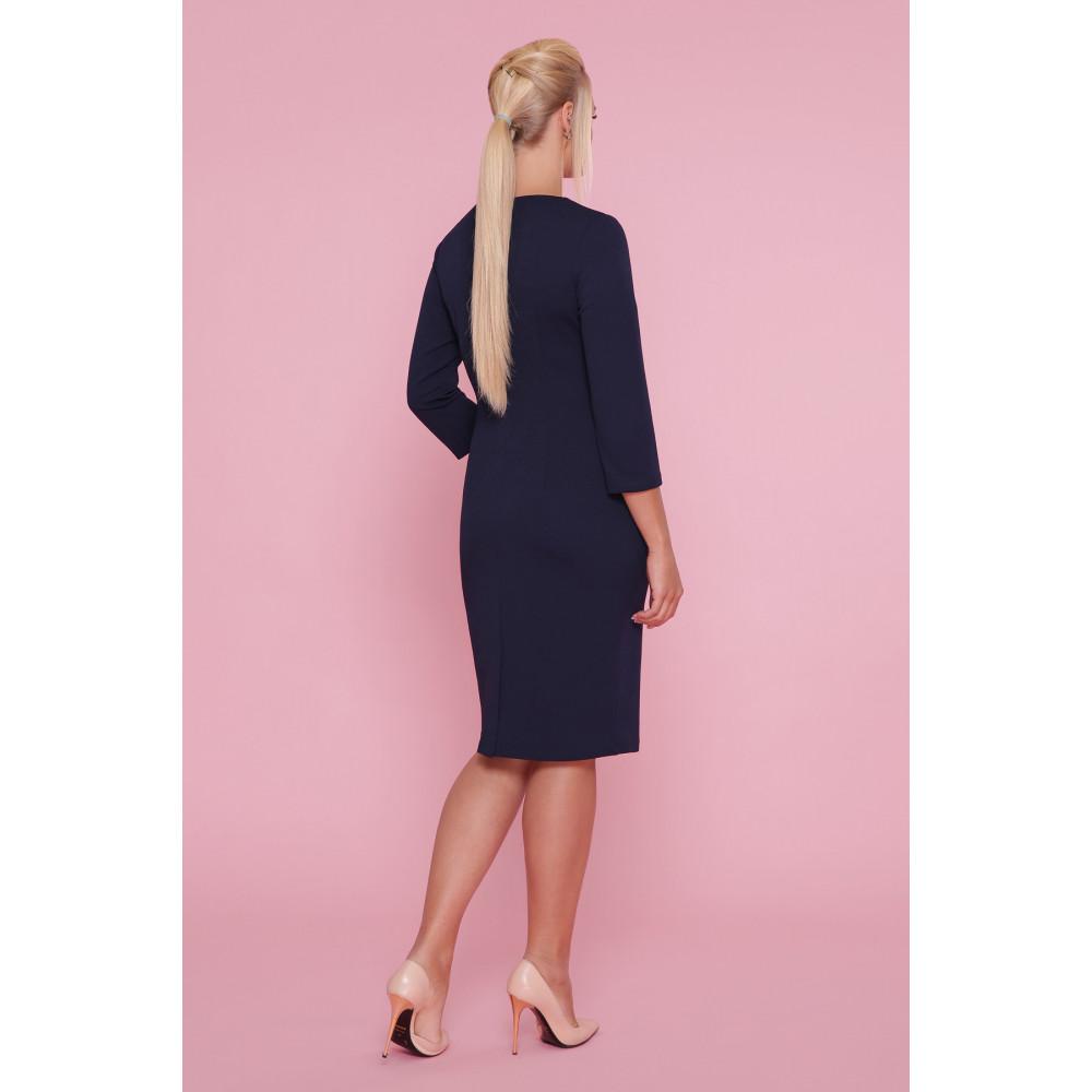 Красивое синее платье Делия фото 3