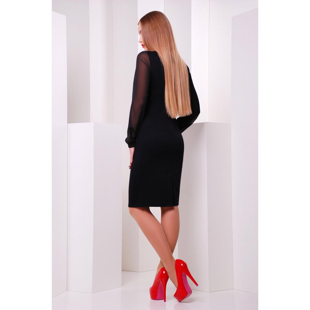 Красивое платье в маки Лусена фото 2