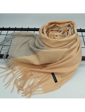 Пісочний шарф з принтом