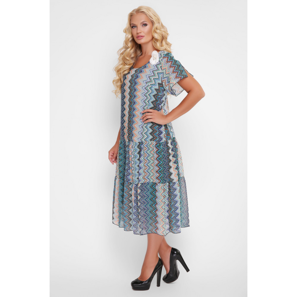 Красочное платье Катаисс фото 9