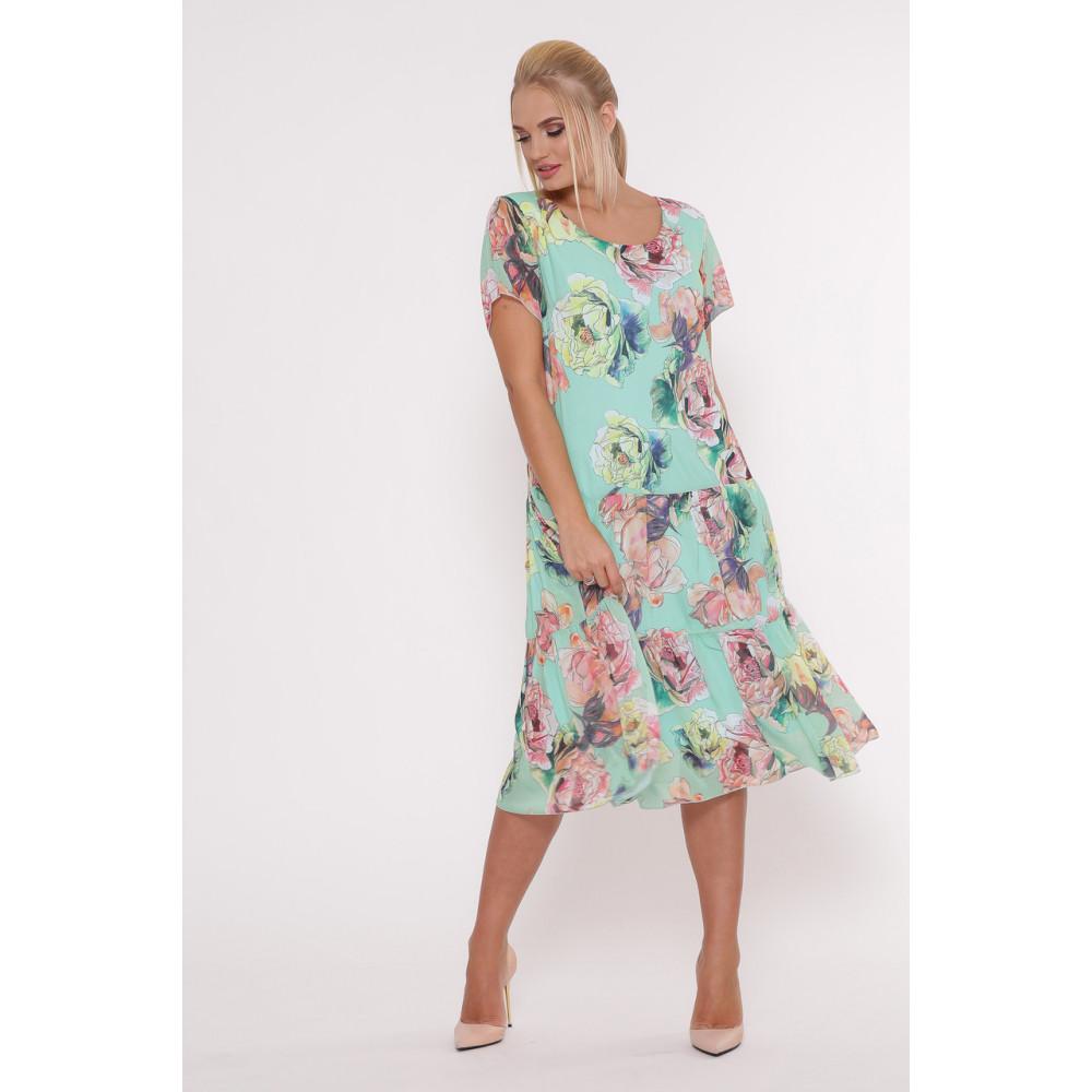 Красивое платье из шифона Катаисс фото 1
