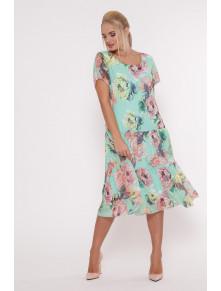 Красивое платье из шифона Катаисс