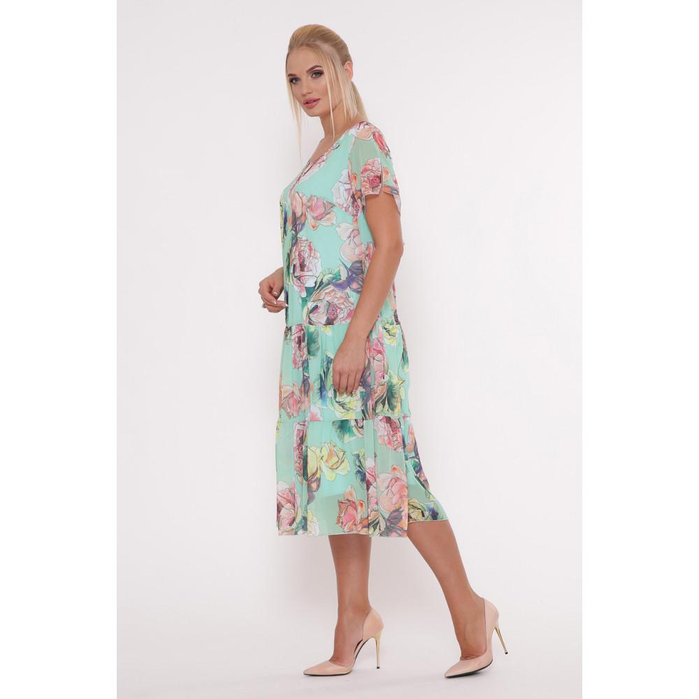 Красивое платье из шифона Катаисс фото 2