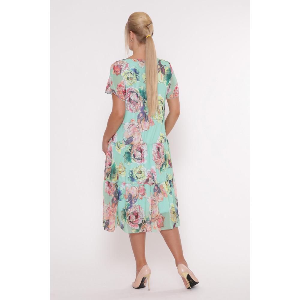 Красивое платье из шифона Катаисс фото 3
