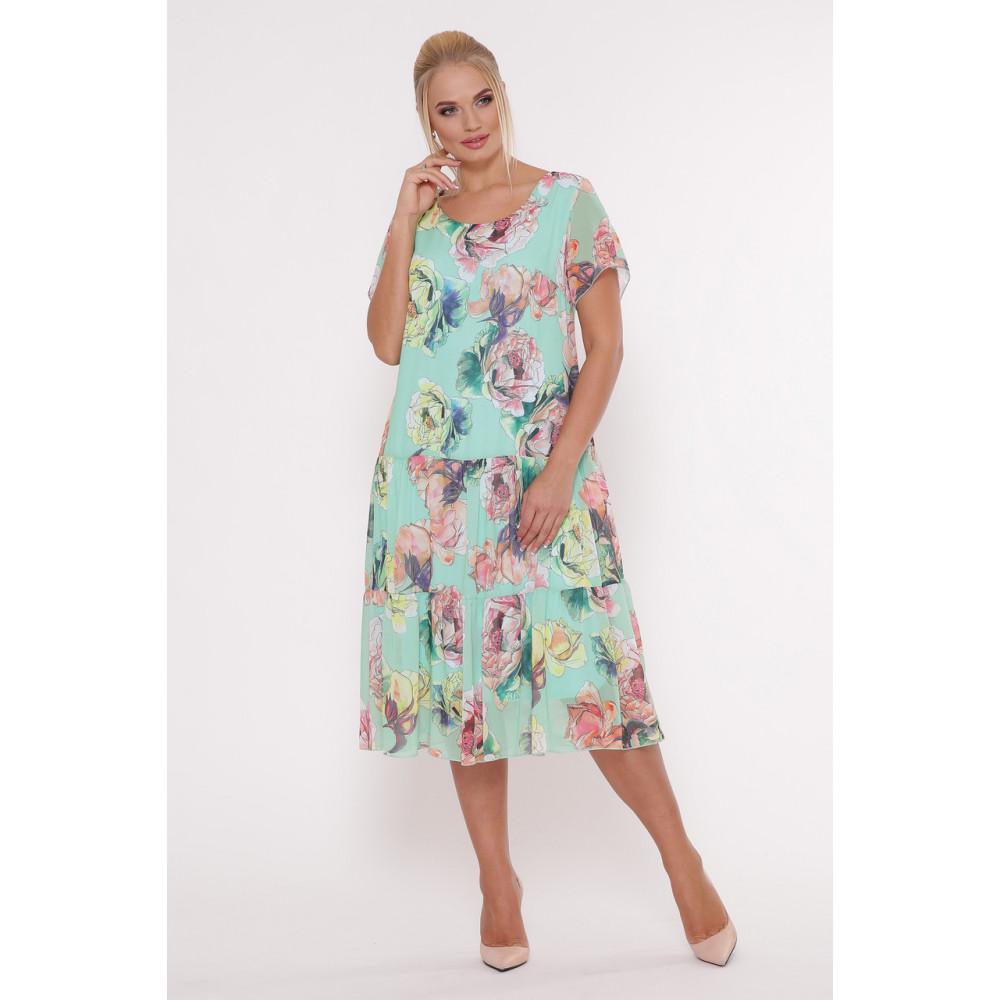 Красивое платье из шифона Катаисс фото 4