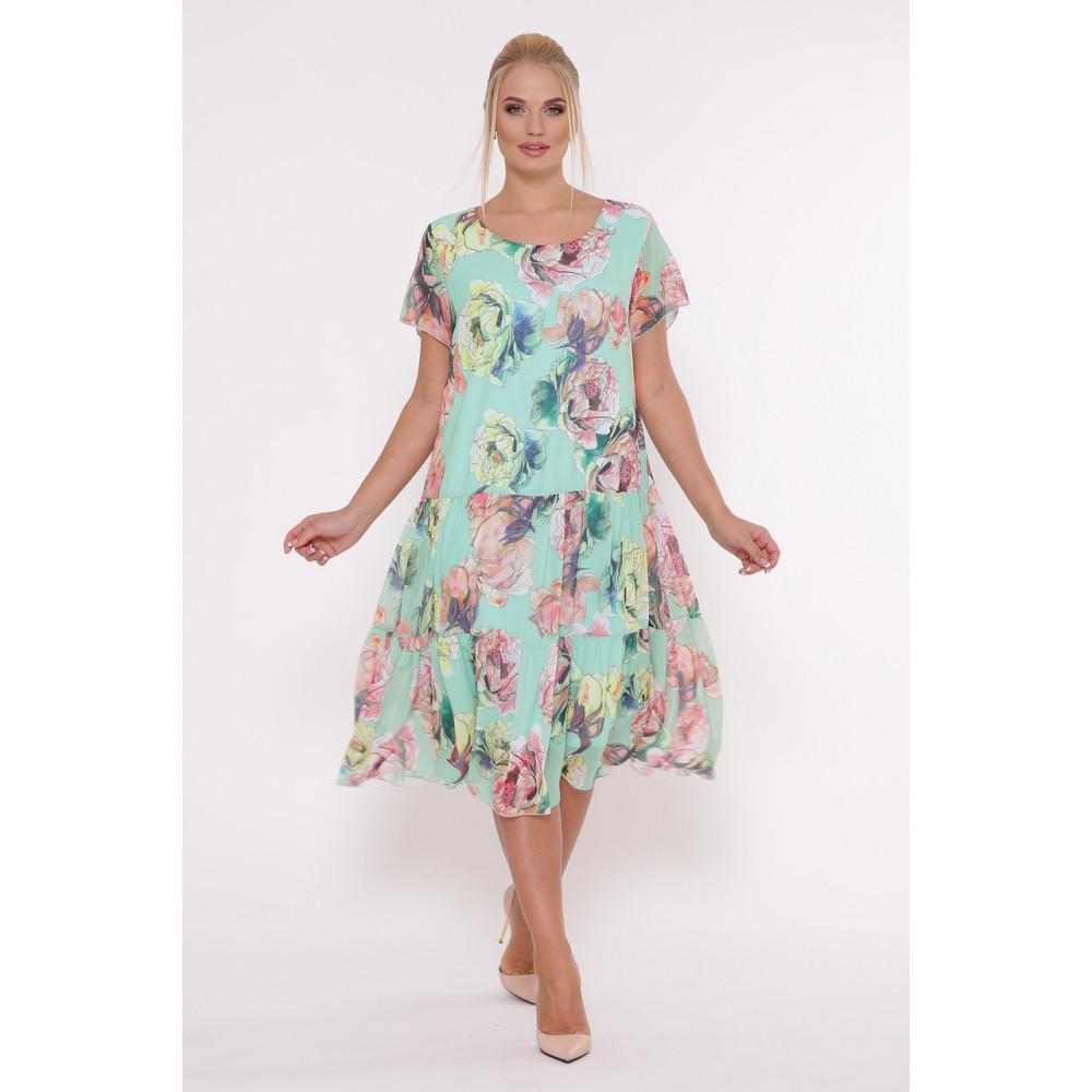 Красивое платье из шифона Катаисс фото 5