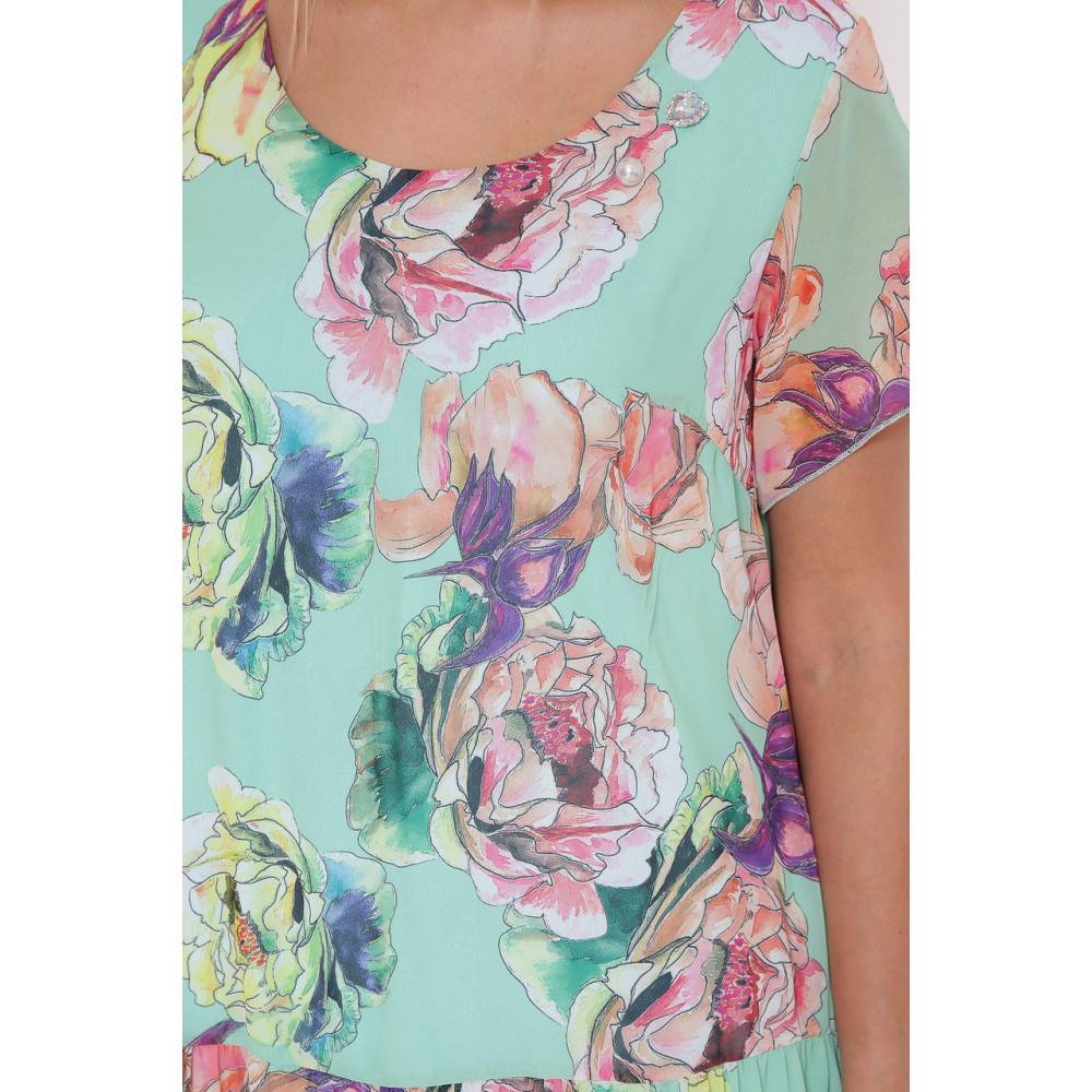 Красивое платье из шифона Катаисс фото 7