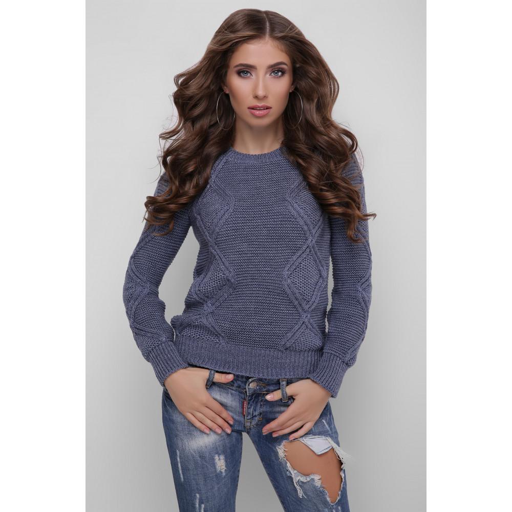 Красивый шерстяной свитер Лера фото 1