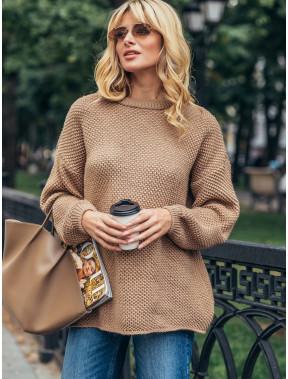Затишний карамельний светр Яніна