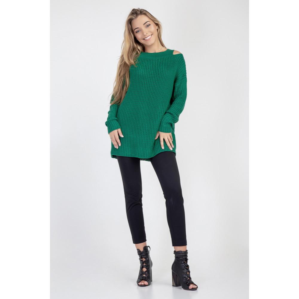 Молодежный зеленый джемпер Лара фото 3