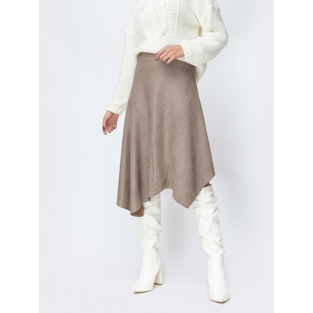 Интересная асимметричная юбка фото 1
