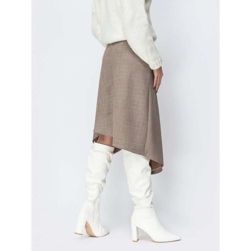 Интересная асимметричная юбка фото 2
