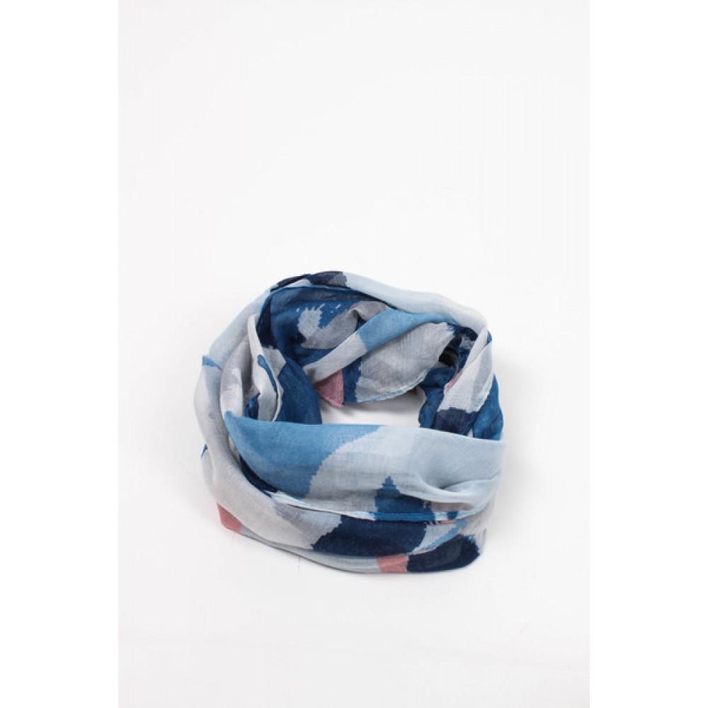 Воздушный голубой снуд Корнелла  фото 2