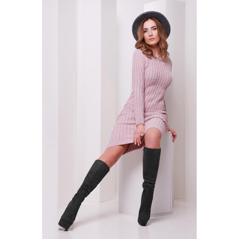 Лаконичное вязаное платье Марго фото 3