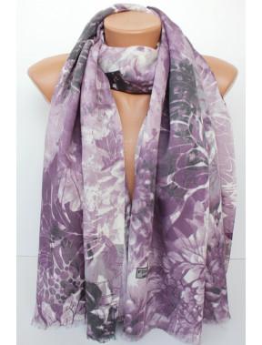 Сиреневый шарф Николь