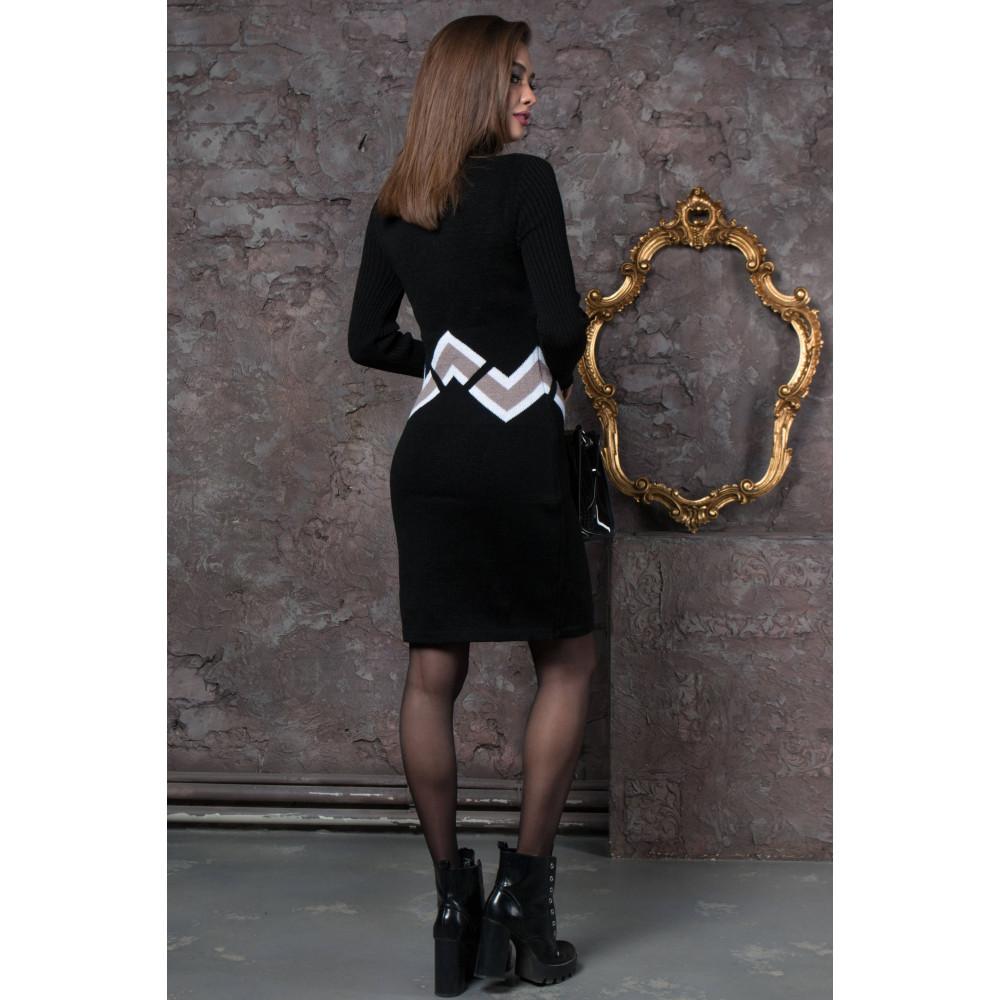 Интересное теплое платье Злата фото 2