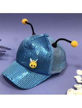 """Кепка """"бджілка"""" з паєтками"""