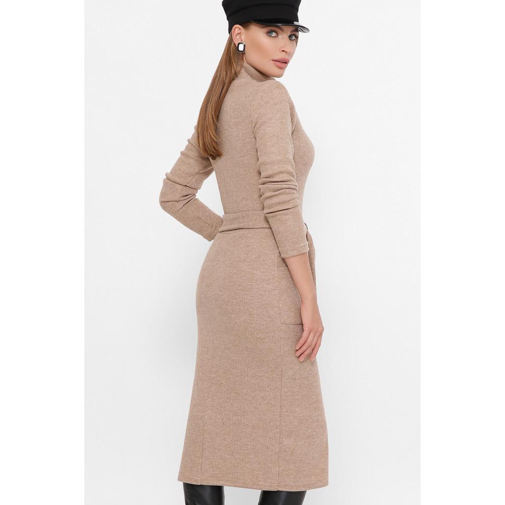 Базовое теплое платье Виталина фото 3