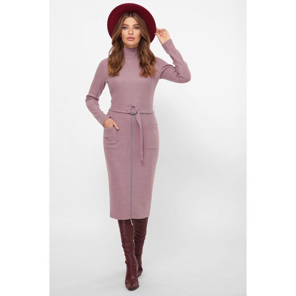 Женственное лиловое платье Виталина фото 1