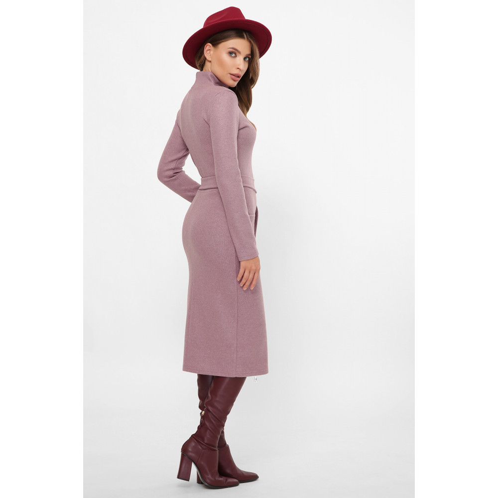 Женственное лиловое платье Виталина фото 4