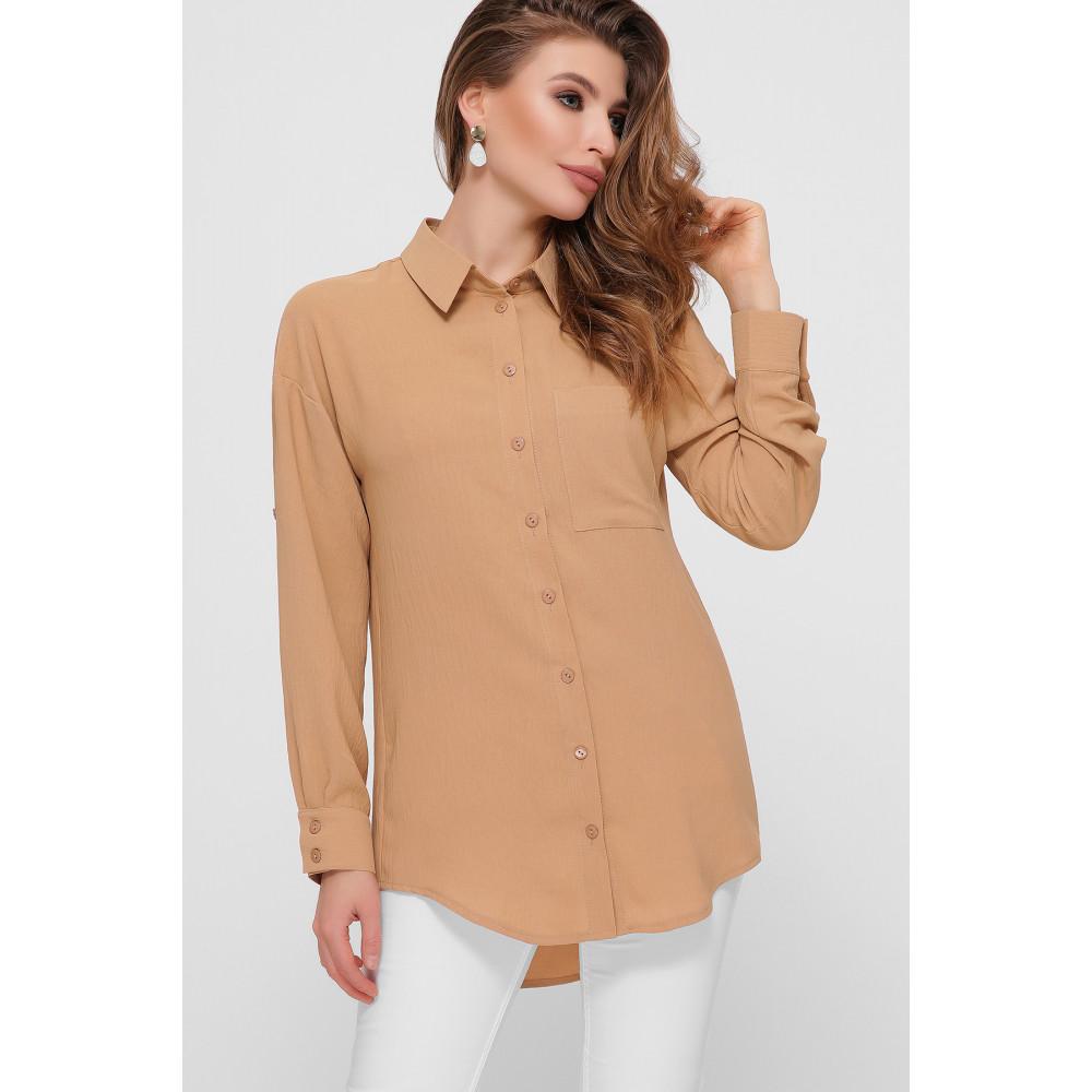 Интересная рубашка с удлиненной спинкой Андреа фото 1
