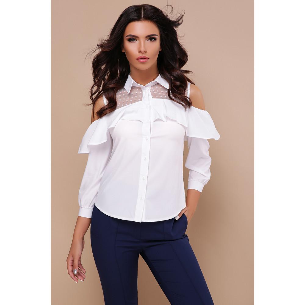 Интересная белая блузка Эрика фото 3