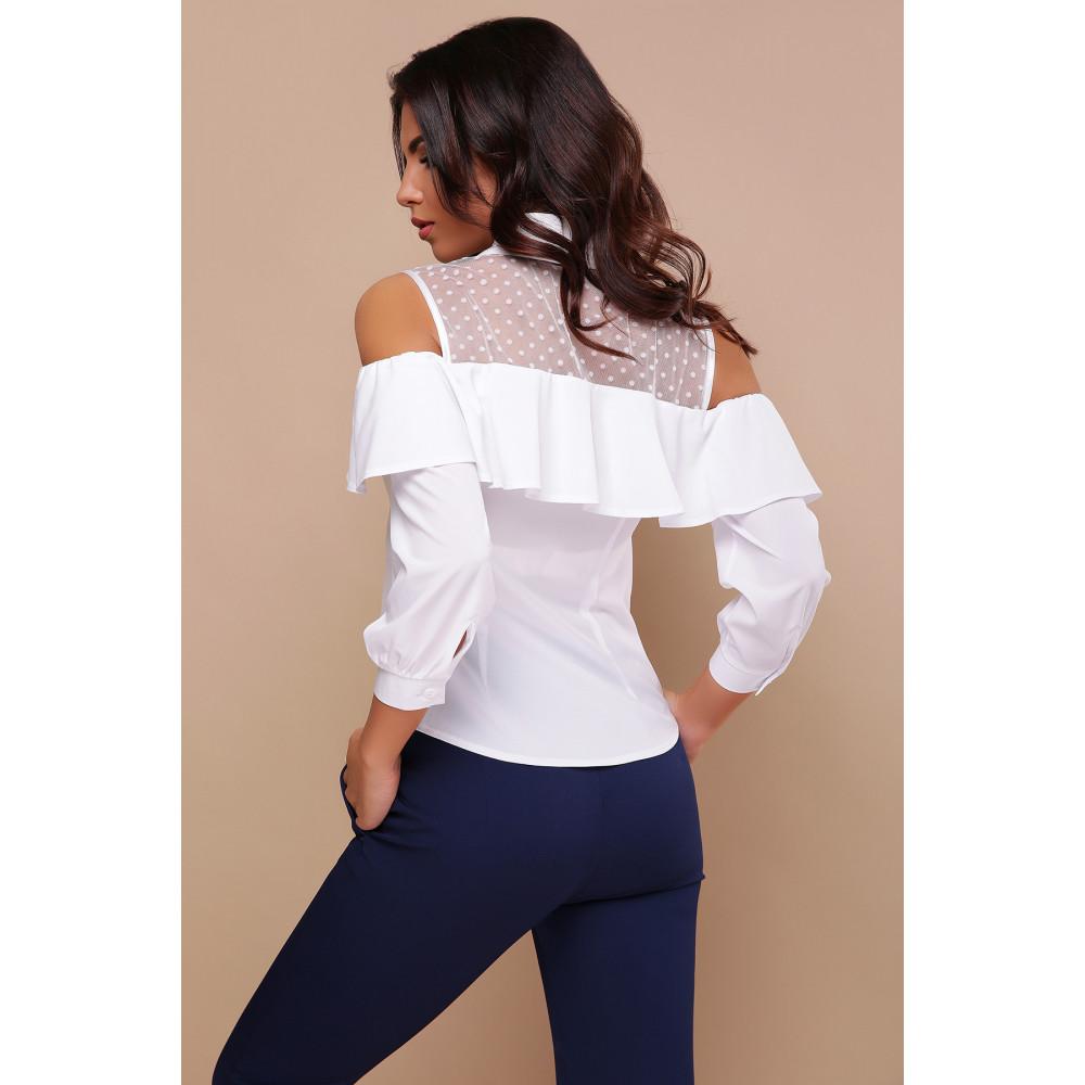 Интересная белая блузка Эрика фото 4
