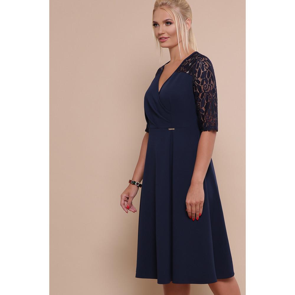 Красивое платье с кружевными рукавами Ида фото 2