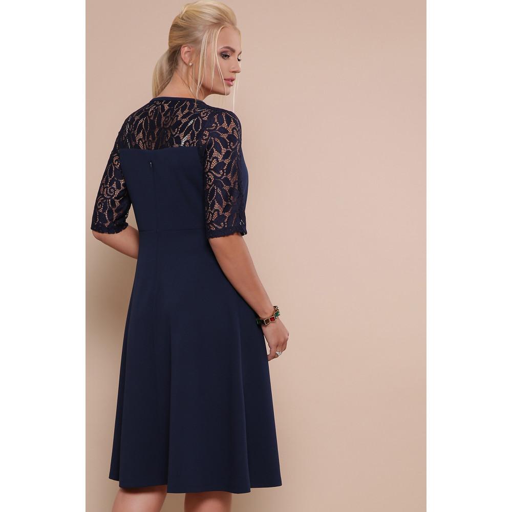 Красивое платье с кружевными рукавами Ида фото 3
