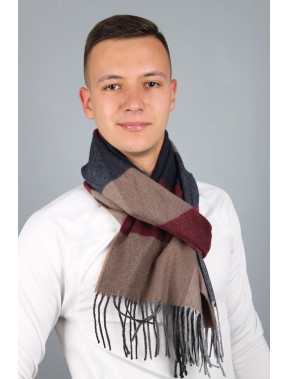 Чоловічий шарф Родерік в клітинку