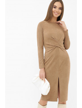 Ніжна замшева сукня Етері