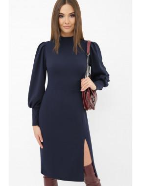 Темно-синя лаконічна сукня Айла