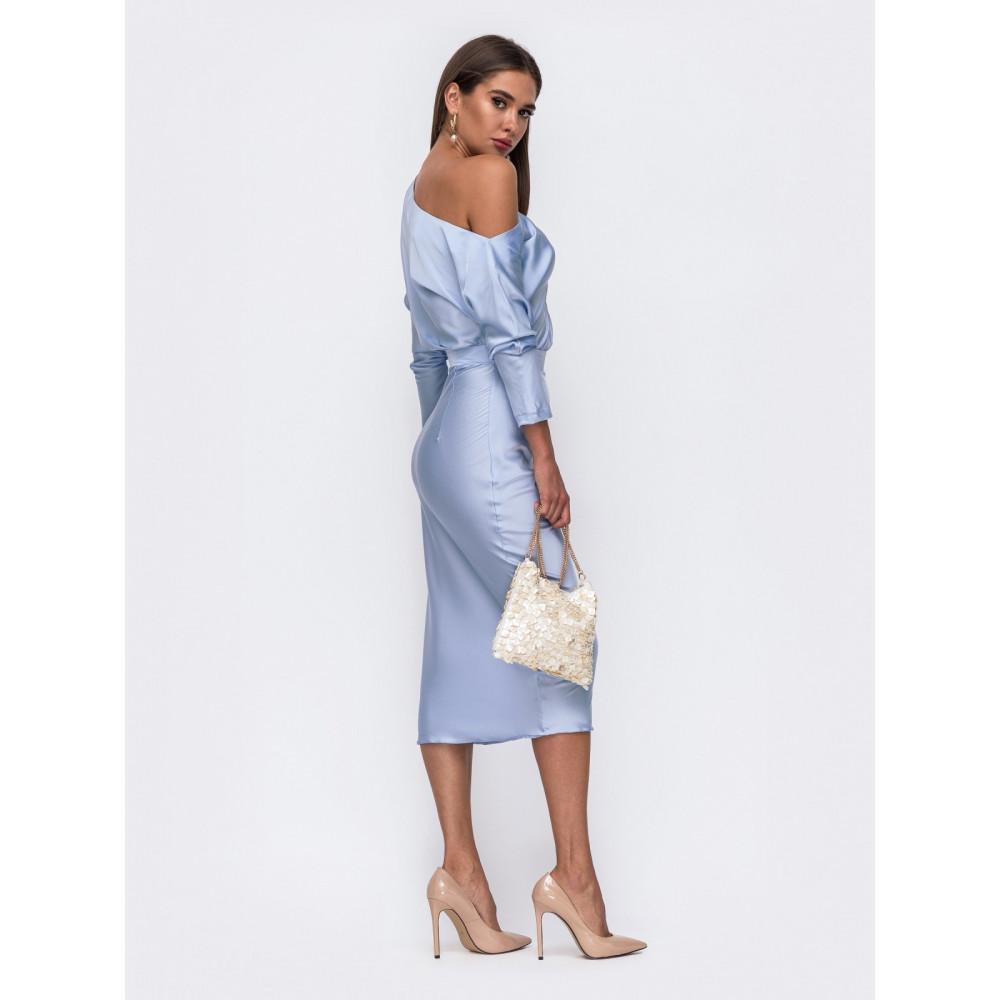 Женственное платье из шелка Натали фото 3