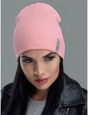 Молодежная персиковая шапка Риана