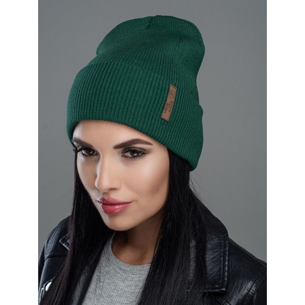 Зеленая двойная шапка Швеция фото 1
