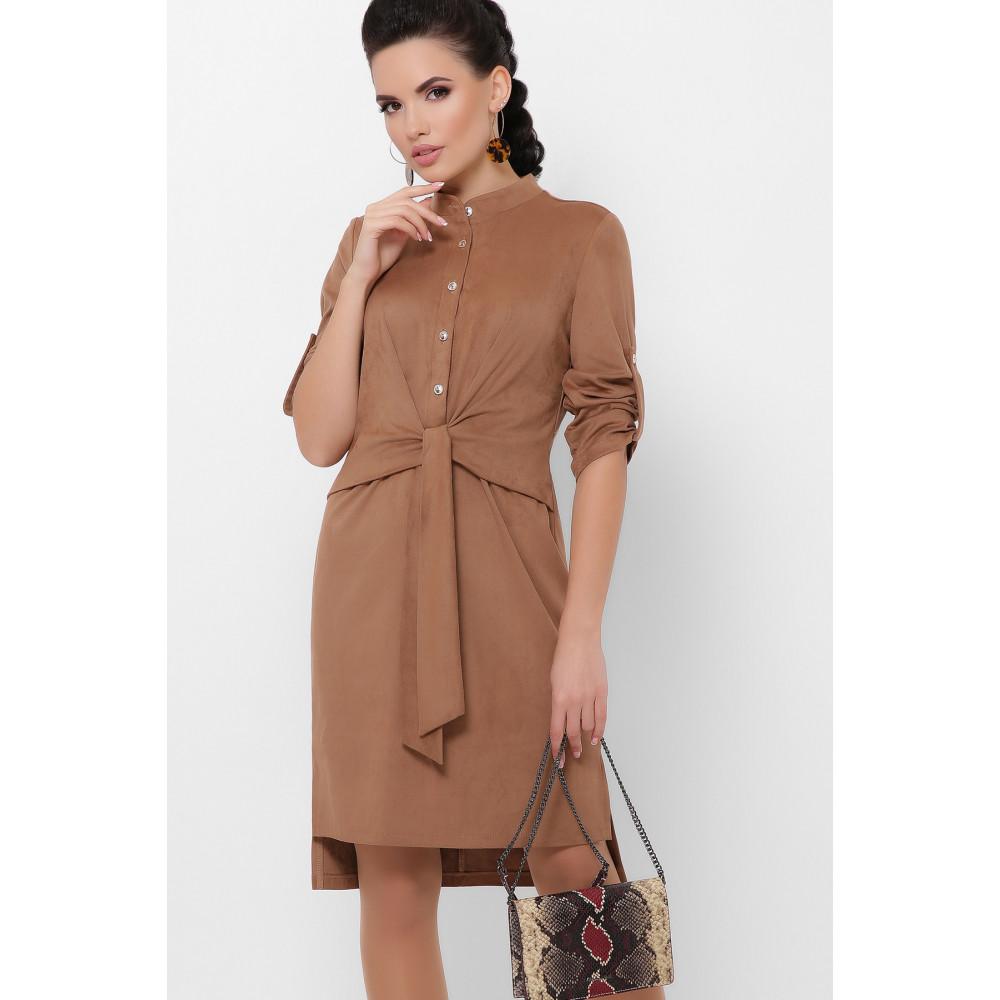 Великолепное замшевое платье Мерида фото 1